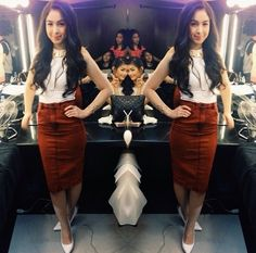 Julia Barretto Filipina Actress, Star Magic, Style Me, Leather Skirt, High Waisted Skirt, Actresses, Formal, Hot, Skirts