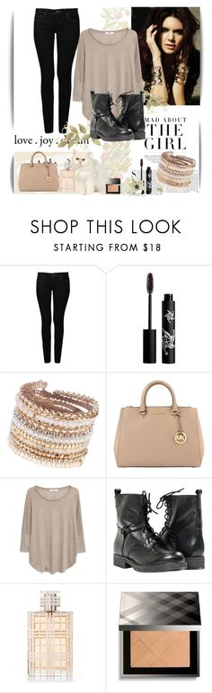 """""""Life Is Beautiful.."""" by fiandapie ❤ liked on Polyvore featuring Mavi, Rouge Bunny Rouge, ALDO, MICHAEL Michael Kors, MANGO, Paolo Shoes, Burberry and Kershaw"""