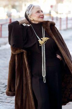 Joyce Carpati my aging icon! She is fabulous.