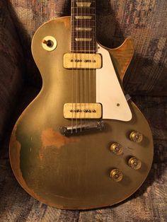 1950s Goldtop Guitar Pics, Music Guitar, Guitar Amp, Cool Guitar, Acoustic Guitar, 1959 Gibson Les Paul, Gibson Lp, Gibson Guitars, Gibson Electric Guitar