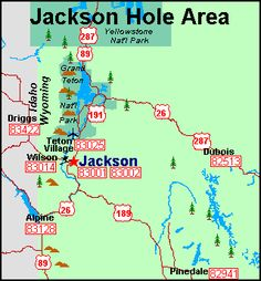 J ackson Hole map Highway Map, Jackson Hole Wyoming, National Parks, Ranch, Maps, Bucket, Travel, Jackson Hole, Guest Ranch