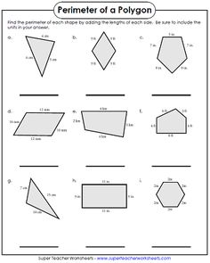 30 Geometry Polygons Worksheet Perimeter Polygons Worksheet The youngsters can enjoy Number Worksheets, Math Worksheets, Alphabet Worksheets. Spelling Worksheets, Shapes Worksheets, Free Kindergarten Worksheets, Worksheets For Kids, Number Worksheets, Alphabet Worksheets, Perimeter Of Shapes, Area And Perimeter Worksheets, Decimal