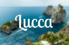 It's after a beautiful Tuscan town—and 'Luke' can be such a cute nickname!
