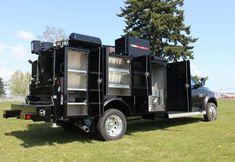 Custom Truck Beds, Custom Trucks, Utility Bed, Welding Beds, Truck Mechanic, Truck Tool Box, Bug Out Vehicle, Peterbilt Trucks, Heavy Machinery