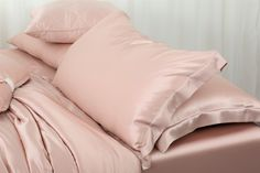 Ultimate Luxury Soft Pink Silk Pillow Sham Silk Pillow, Pillow Shams, Pillows, Pink Silk, Pillowcases, Luxury, Bed, Shopping, Home