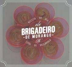 Receita de Brigadeiro Gourmet de Morango