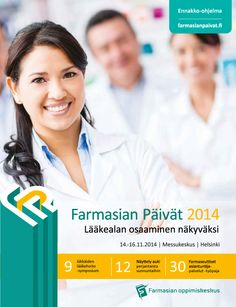 Farmasian Päivät 2014 ohjelmalehtisen suunnittelu ja taitto.