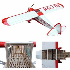 """206.00$  Know more - http://ai6zc.worlditems.win/all/product.php?id=32696478693 - """"Electric plane Taylorcraft-90 87.4"""""""" 6 Channels ARF Large Scale Balsa RC Model Airplane"""""""