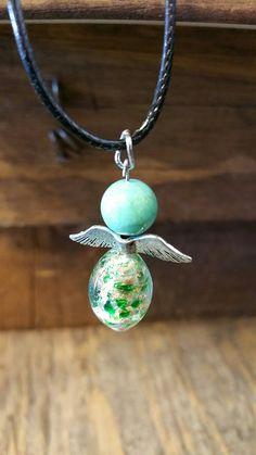 Handmade-Guardian Angel Bead Chokers