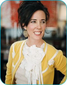 Famous Sorority Women --  Kate Spade, designer, Kappa Kappa Gamma
