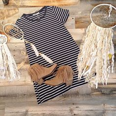 Dressed like a|d a y d r e a m|Dress($40). Boots($48). #frankieandjules #taylorswift #blankspace #dressedlikeadaydream #dreamcatcher #fnjstyle #fringe #striped #boho #hippie #hippiestyle #thursdayhurryupandgethere #preview #sneakpeek #ootd #blogger #fashionblogger #kcblogger #daydream #fallfashion #kansacitylocal #locallove #localkc #kansascity #kc #shopsmall #weekendwear #details