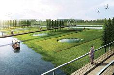 Qingliu River Landscape Concept | Chuzhou China | Tract SIAD