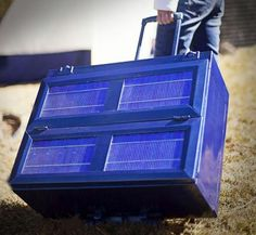 Anywhere Fridge: Collapsible Solar Powered Refrigerator