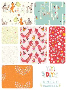Yay Day by Emily Isabella for Birch Fabrics