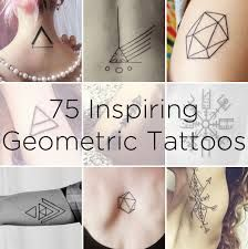 geometric minimalist tattoo