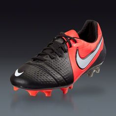 Nike CTR360 Maestri III FG - Black White Bright Crimson Firm Ground Soccer  Shoes 7cd9f78d1d464