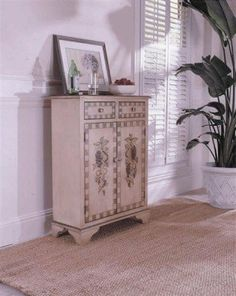 Fairfax Home Furnishings Fruit Design Accent Cabinet by Fairfax Home Furnishings. $513.00. This accent cabinet makes the perfect addition to kitchen and dining rooms thanks to its beautiful painted fruit scenes on its front two cabinet doors.