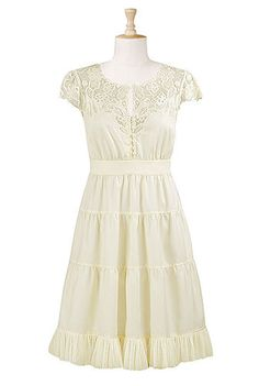 This really makes me want to make a solid white dress for summer. Maybe......