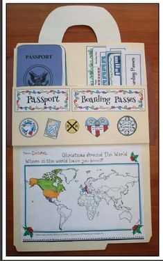 """""""Around The World Travels!"""" Includes Christmas Around The World Too Christmas Around The World activities, Xmas around the world activities, Christmas crafts, geography activities for early elementary Geography Activities, Teaching Geography, Social Studies Activities, World Geography, Teaching Social Studies, Preschool Activities, Travel Activities, Social Studies Projects, Geography For Kids"""
