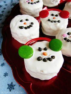 Rice Krispies Treat Snowman