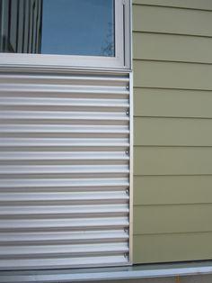 2-type siding at window