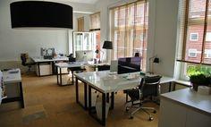Offene Arbeitsplätze im stylischen Office #Büro, #Bürogemeinschaft, #Office, #Coworking, #Hamburg