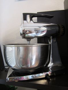 Vintage Working Chrome Sunbeam Mixmaster by TheVintageMaid on Etsy, $40.00