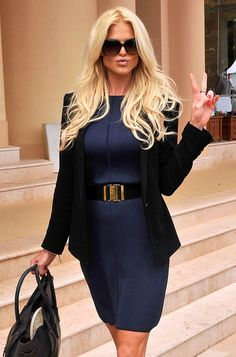 Victoria Silvstedt Photo - Victoria Silvstedt At The Monte Carlo Masters Tennis Tournament