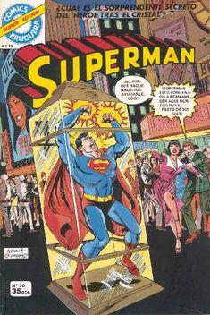 SUPERMAN BRUGUERA 26 Dc Comic Books, Comic Book Covers, Caricature, Marvel Dc, Marvel Comics, Dc Comics Collection, Action Comics 1, Superman Comic, Superman Images