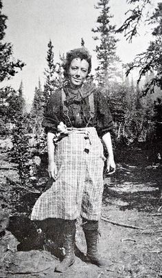 """The linked article """"One Woman's Gold Rush"""" is worth the read for a rare background look at women of the Gold Rush."""