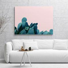 'Kaktos' Canvas & Art Prints @society6 #society6 #decor #buyart #cactus
