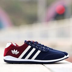 New fashion Men casual Wild trend breathable canvas sneakers running shoes Mens Fashion Shoes, New Fashion, Canvas Sneakers, Adidas Sneakers, Casual Shoes, Men Casual, Men's Shoes, Running Shoes, Footwear
