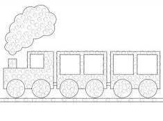 QTip-Train-Printable