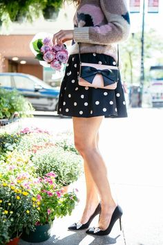 Florals + Polka Dots | Sequins & Stripes