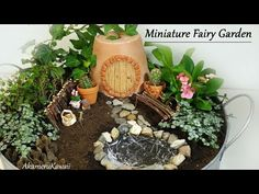 Miniature Fairy Garden Tutorial