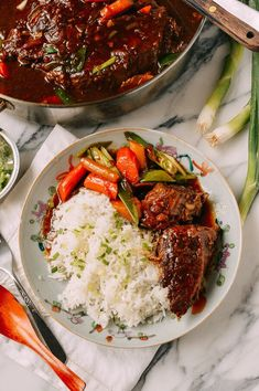 Asian Pot Roast, by thewoksoflife.com