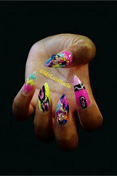 Nail art by Mr. Luis www.nailsmag.com