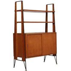 1960s midcentury modern franco albini franca helg manner bookshelf bookcase