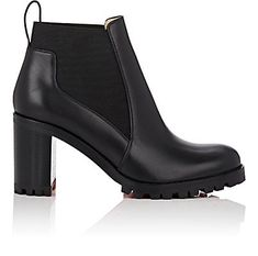 Christian Louboutin Marcharoche Leather Ankle Boots - Boots - 505325134