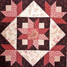 Saturday Sampler Block free Quilt Pattern