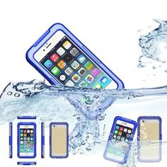 "Waterproof Case for iPhone 6 4.7"" Silicone Durable Dirt Shockproof Bag Waterproof Mobile Phone Cases"