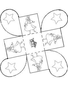 Gift box Cinderella - Cut-Out Diy Gift Box, Paper Cutting, Christmas Crafts, Cinderella, Paper Crafts, Kids Rugs, Printables, Entertaining, Drawings