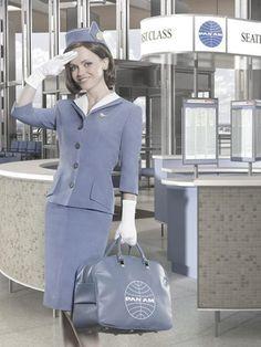 Pan Am Stewardess