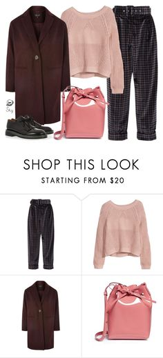 """""""s k y"""" by skyl19 ❤ liked on Polyvore featuring Isa Arfen, H&M, Topshop, Mansur Gavriel and Marni"""