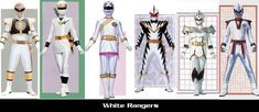 White Rangers by ~TommyOliver5 on deviantART