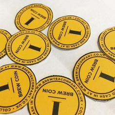 These #BrewCoins have been perfectly cut out!