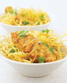 Malaysian-style Chicken with Noodles