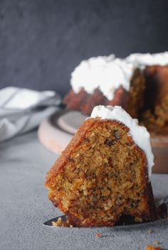 Λατρεμένο carrot cake - The Cook in you Greek Cake, Good Food, Yummy Food, Gateaux Cake, Greek Recipes, Carrot Cake, Banana Bread, Bakery, Deserts