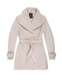 casaco lã Off white