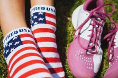USA inspyred socks with cool max fabric. #lifestyle_socks